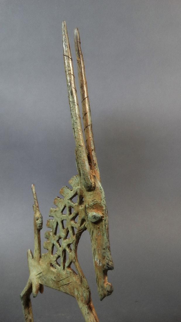 Couple Tjiwara in Bronze Dogon - 7
