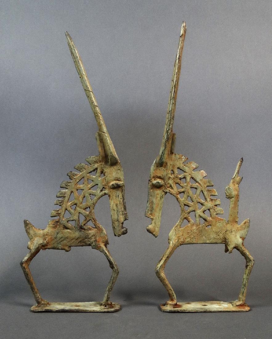 Couple Tjiwara in Bronze Dogon - 8