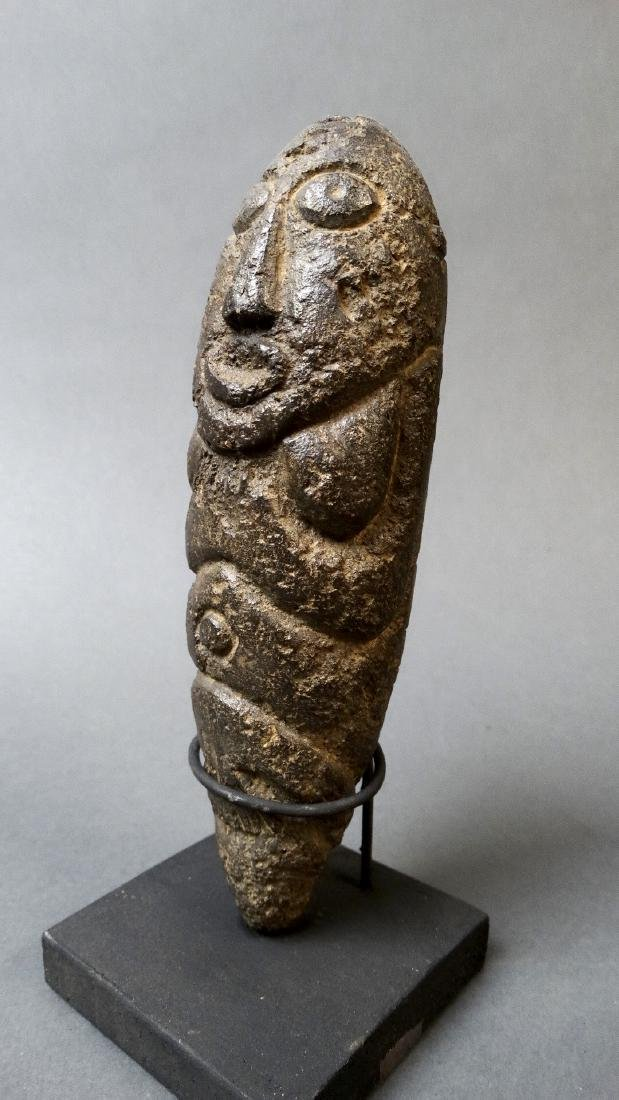 Old and Rare Fallus Fertility Figure - Kissi