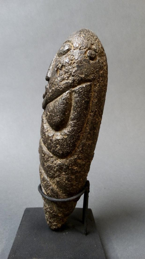 Old and Rare Fallus Fertility Figure - Kissi - 2