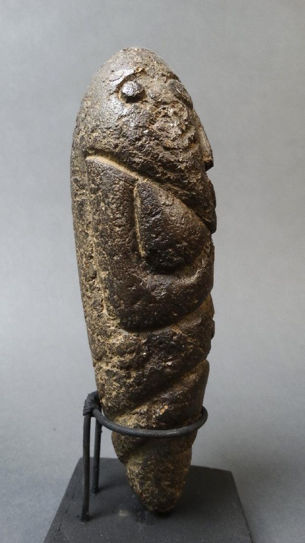 Old and Rare Fallus Fertility Figure - Kissi - 4