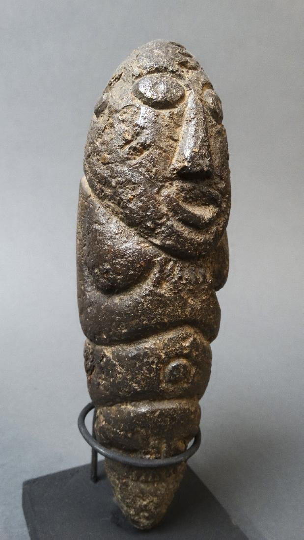 Old and Rare Fallus Fertility Figure - Kissi - 5