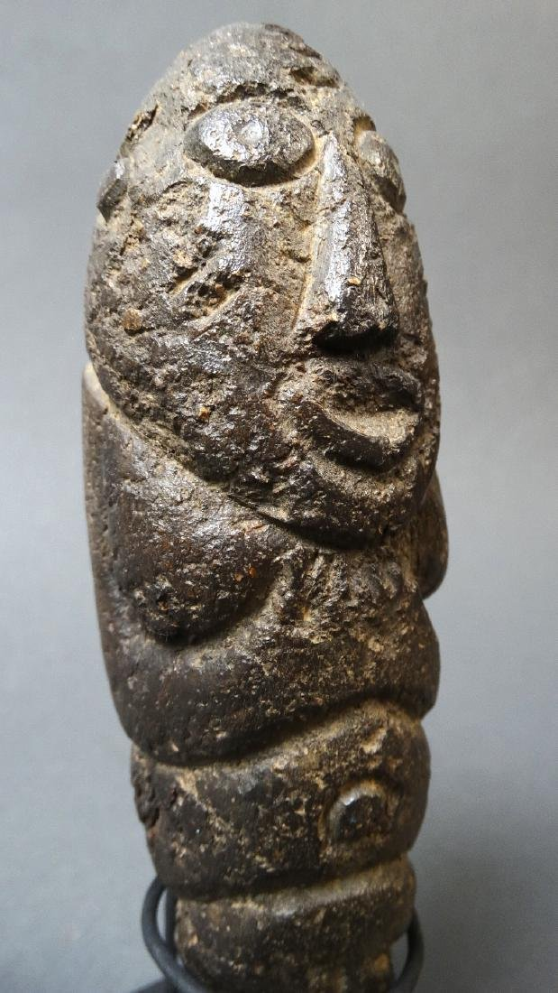 Old and Rare Fallus Fertility Figure - Kissi - 6