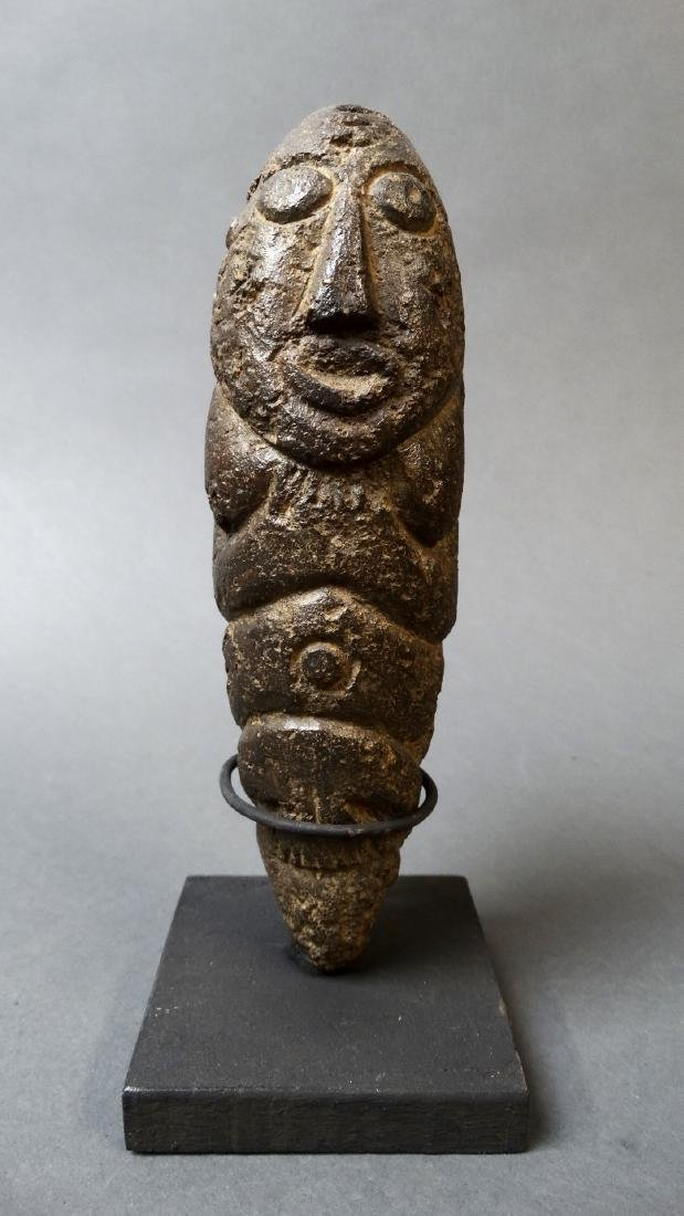 Old and Rare Fallus Fertility Figure - Kissi - 7