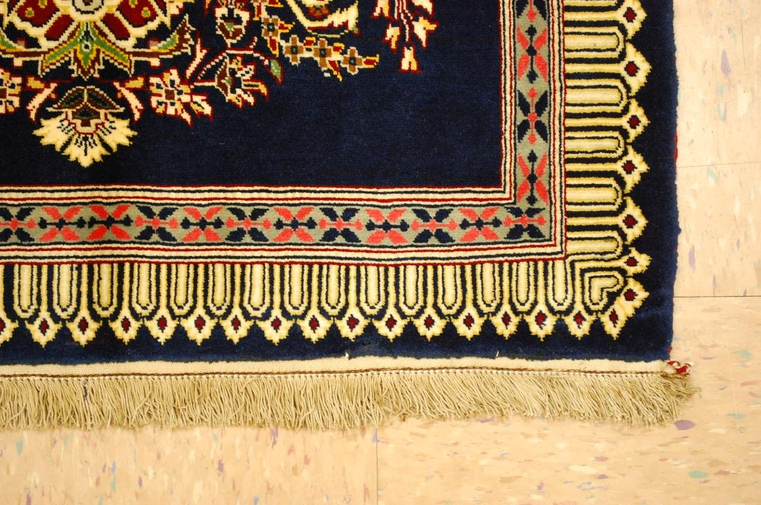 Antique Kork Wool Persian Kashan Rug 2x3 - 2