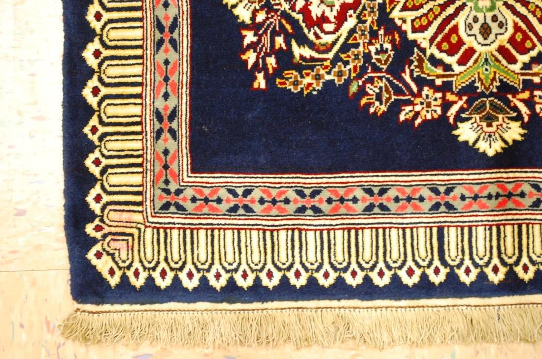 Antique Kork Wool Persian Kashan Rug 2x3 - 3