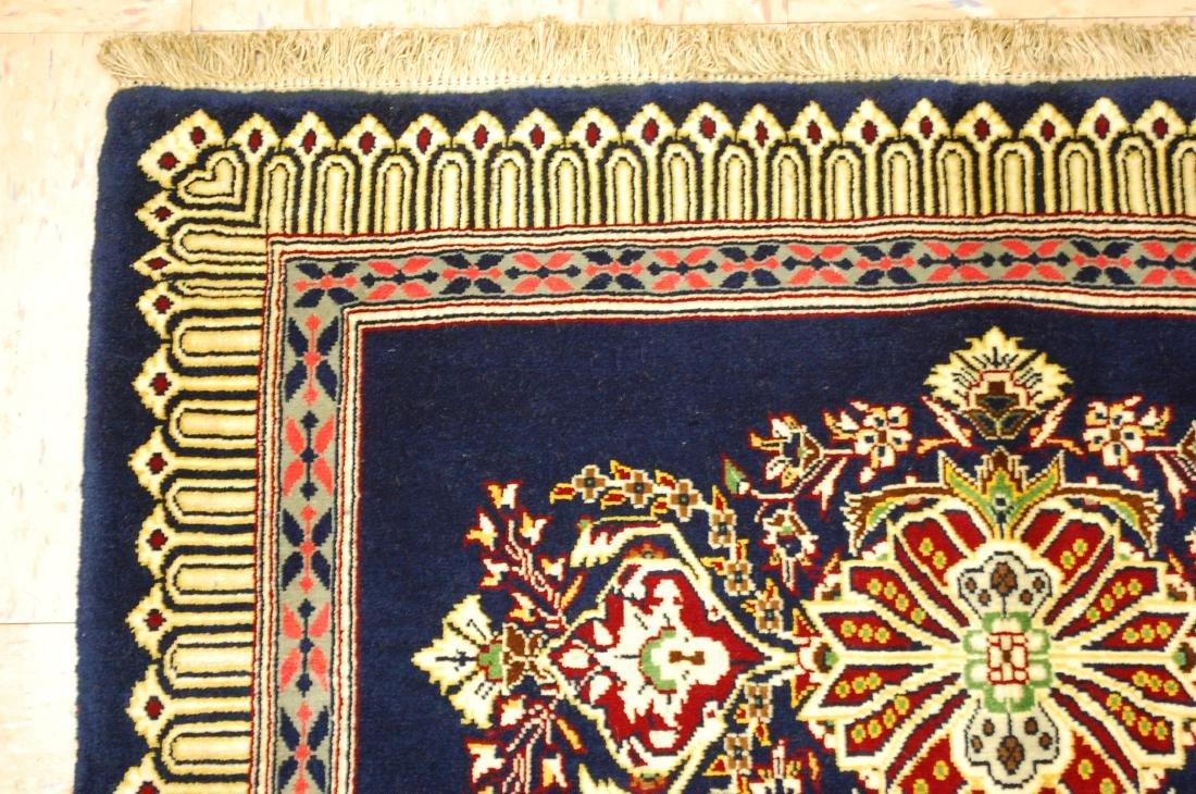 Antique Kork Wool Persian Kashan Rug 2x3 - 4