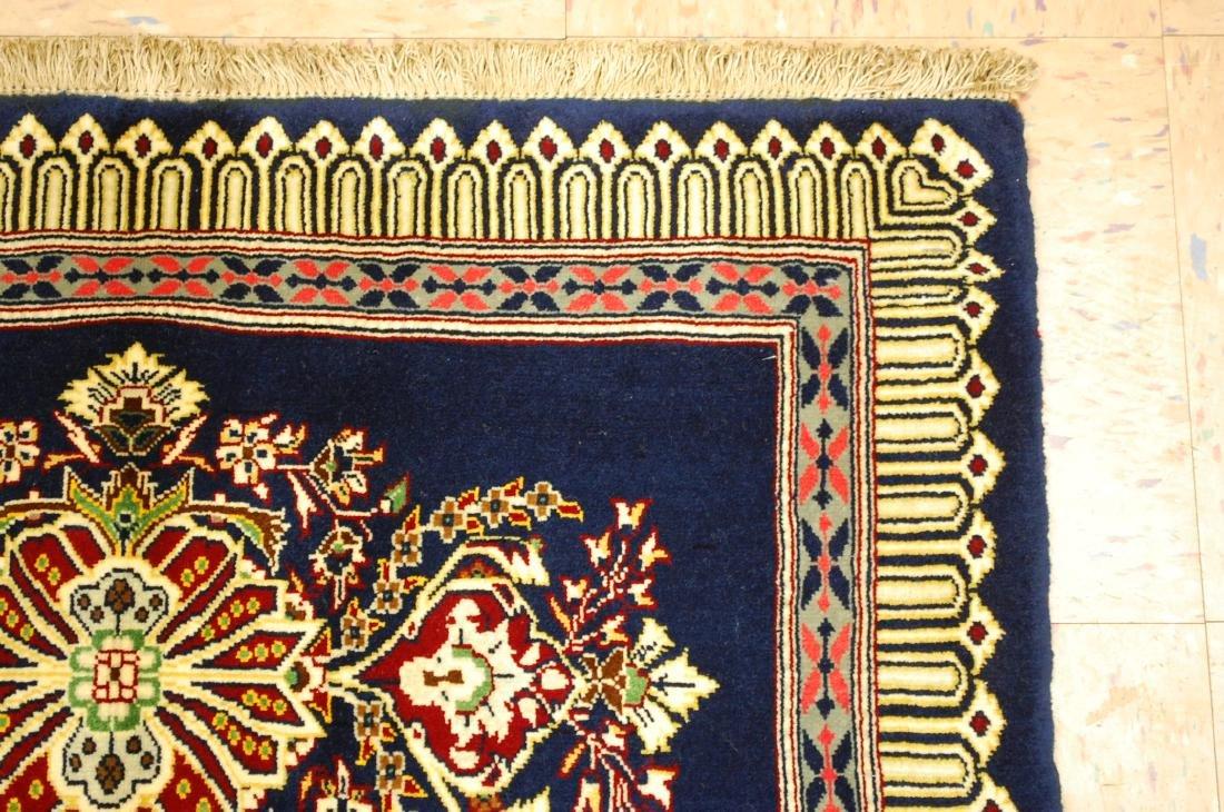 Antique Kork Wool Persian Kashan Rug 2x3 - 5