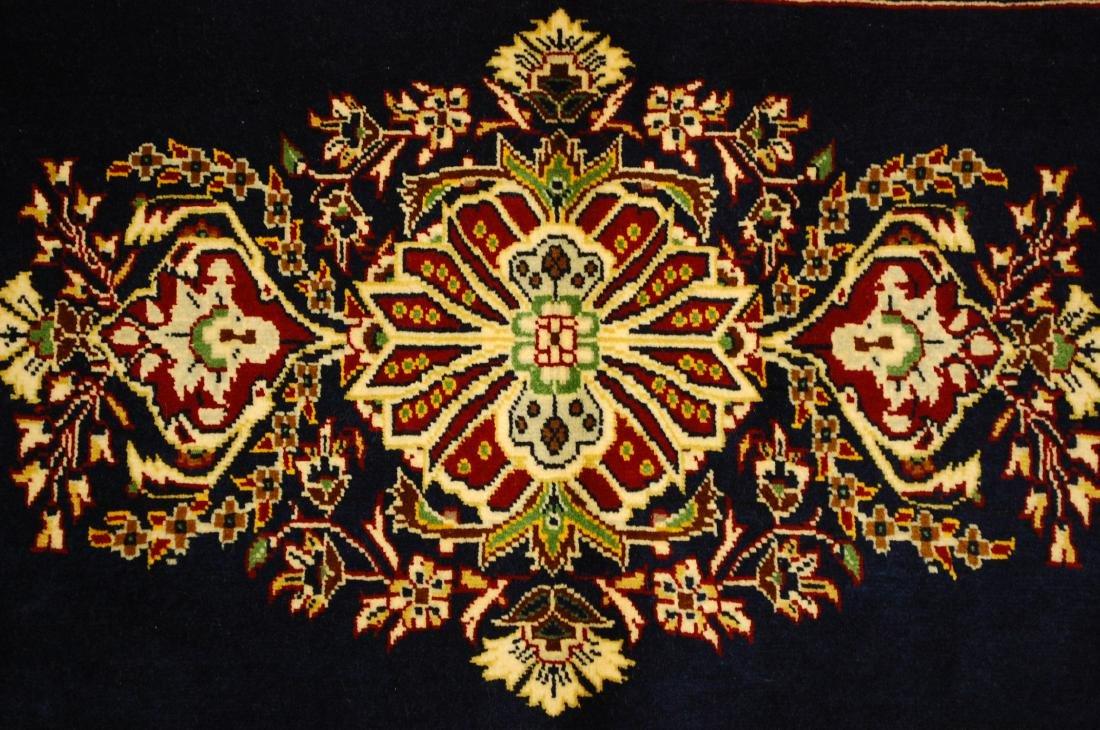 Antique Kork Wool Persian Kashan Rug 2x3 - 6