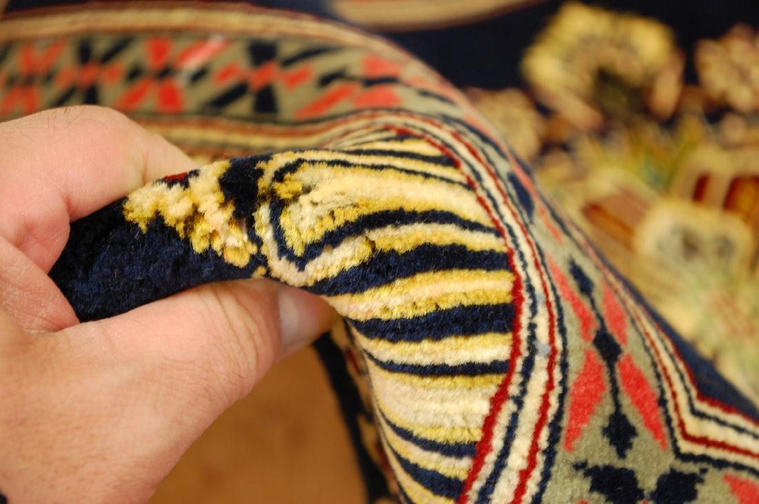 Antique Kork Wool Persian Kashan Rug 2x3 - 7