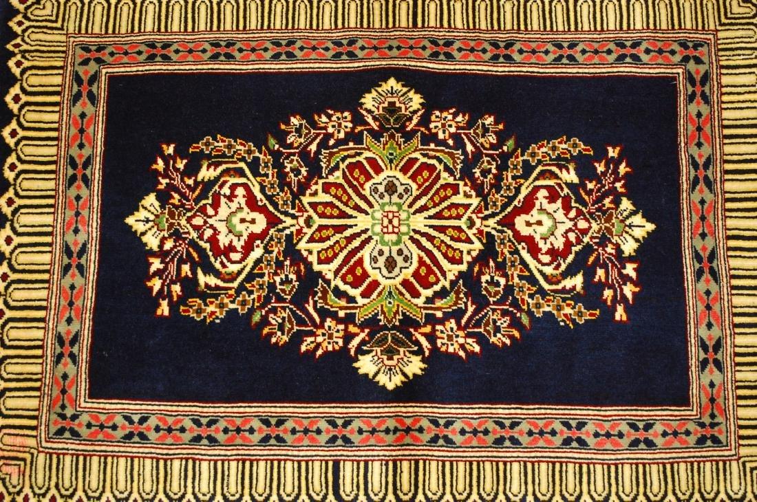 Antique Kork Wool Persian Kashan Rug 2x3 - 9