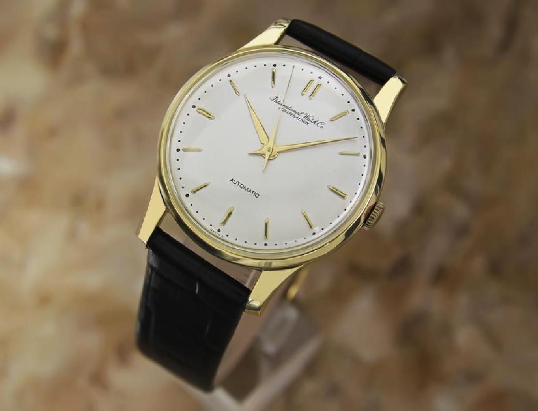 IWC International Watch Co 18k Gold 1960's Automatic - 2