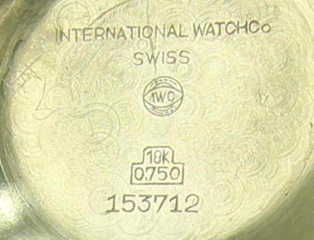 IWC International Watch Co 18k Gold 1960's Automatic - 7