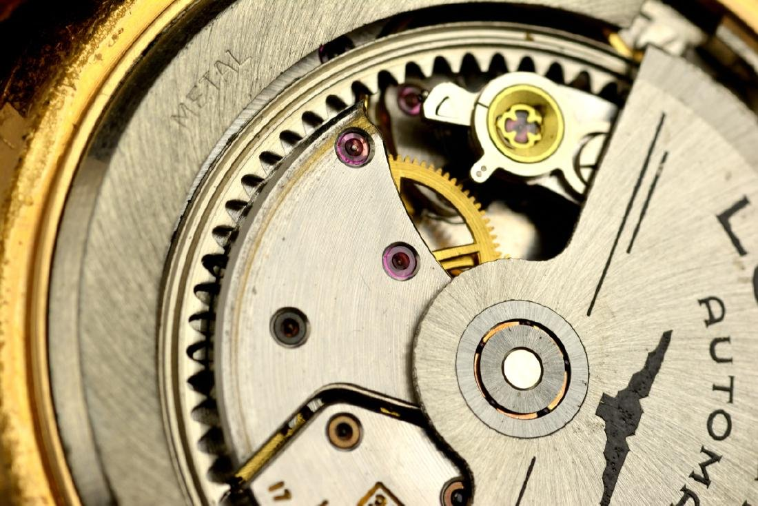 Rare Longines Flagship De Luxe Rose Gold Case And Dial - 7