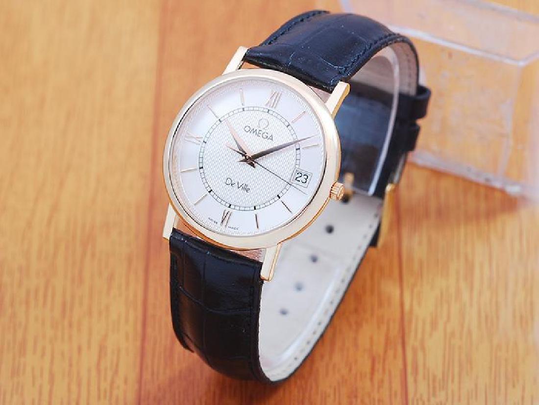 Omega De Ville 18K Solid Gold Men's Watch! - 3