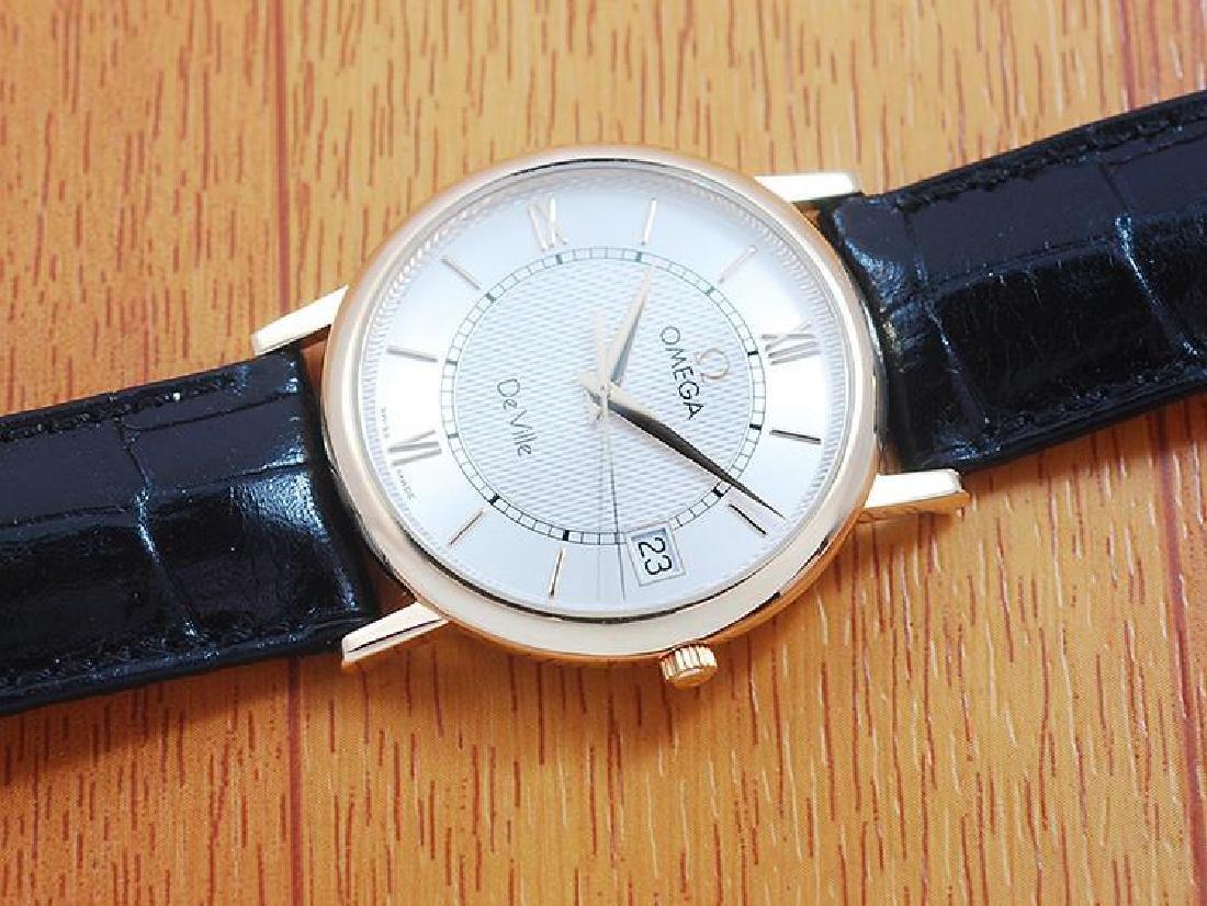Omega De Ville 18K Solid Gold Men's Watch! - 5