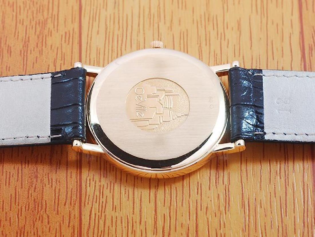 Omega De Ville 18K Solid Gold Men's Watch! - 6