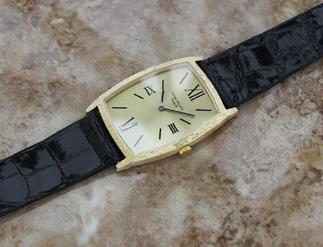 Patek Philippe Swiss Made 18k Solid Gold Luxury Dress - 5