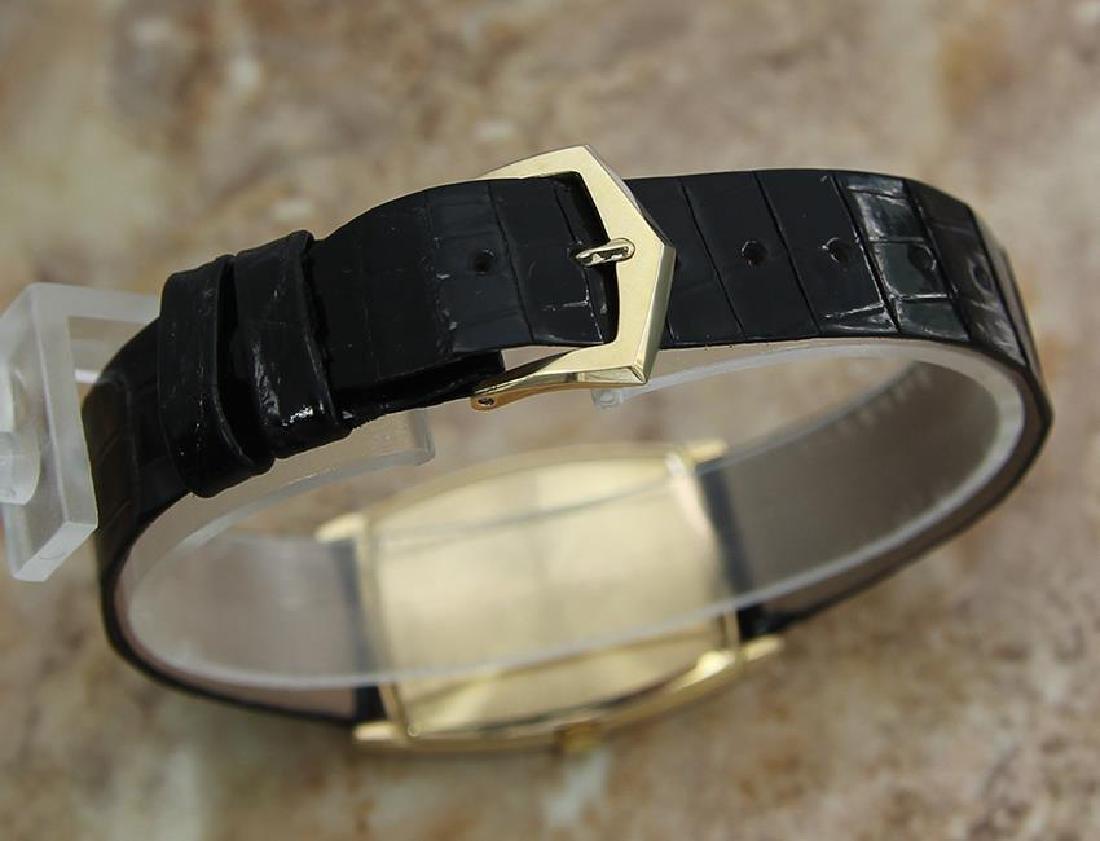 Patek Philippe Swiss Made 18k Solid Gold Luxury Dress - 6