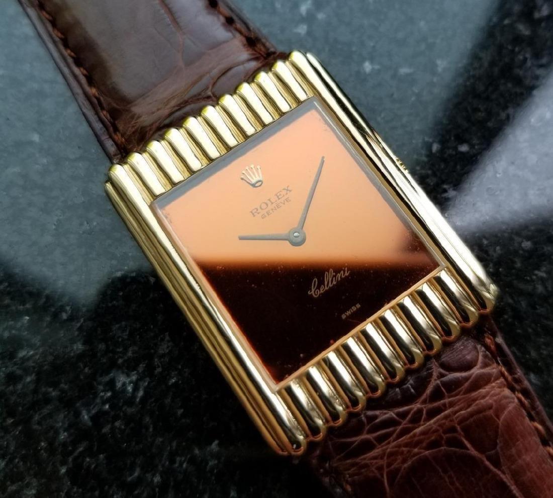 Rolex Vintage Cellini 18K Solid Gold 1974 Swiss Watch