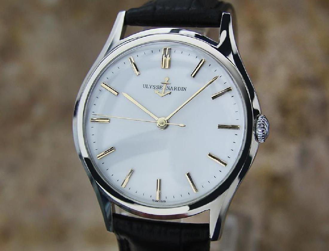Vintage Ulysse Nardin Suisse Luxury Men's Watch c1960