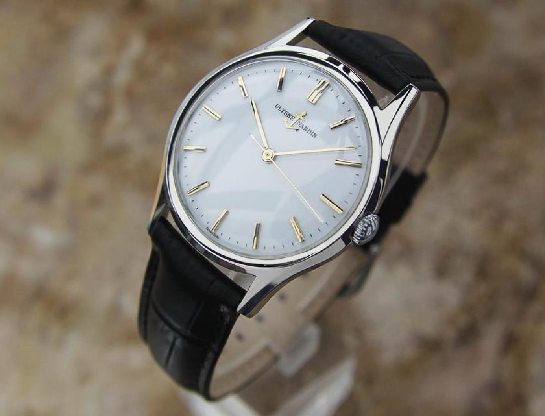 Vintage Ulysse Nardin Suisse Luxury Men's Watch c1960 - 2