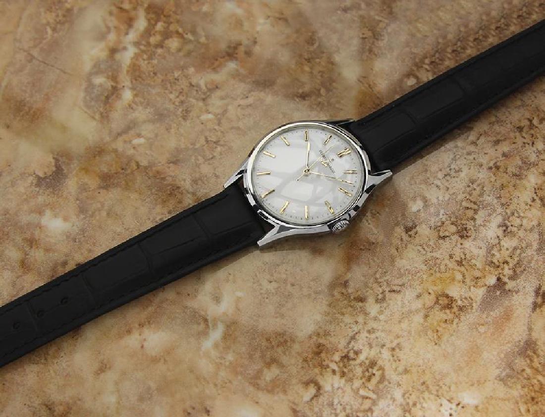 Vintage Ulysse Nardin Suisse Luxury Men's Watch c1960 - 5