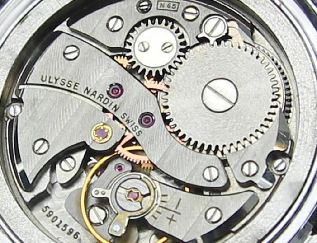 Vintage Ulysse Nardin Suisse Luxury Men's Watch c1960 - 8