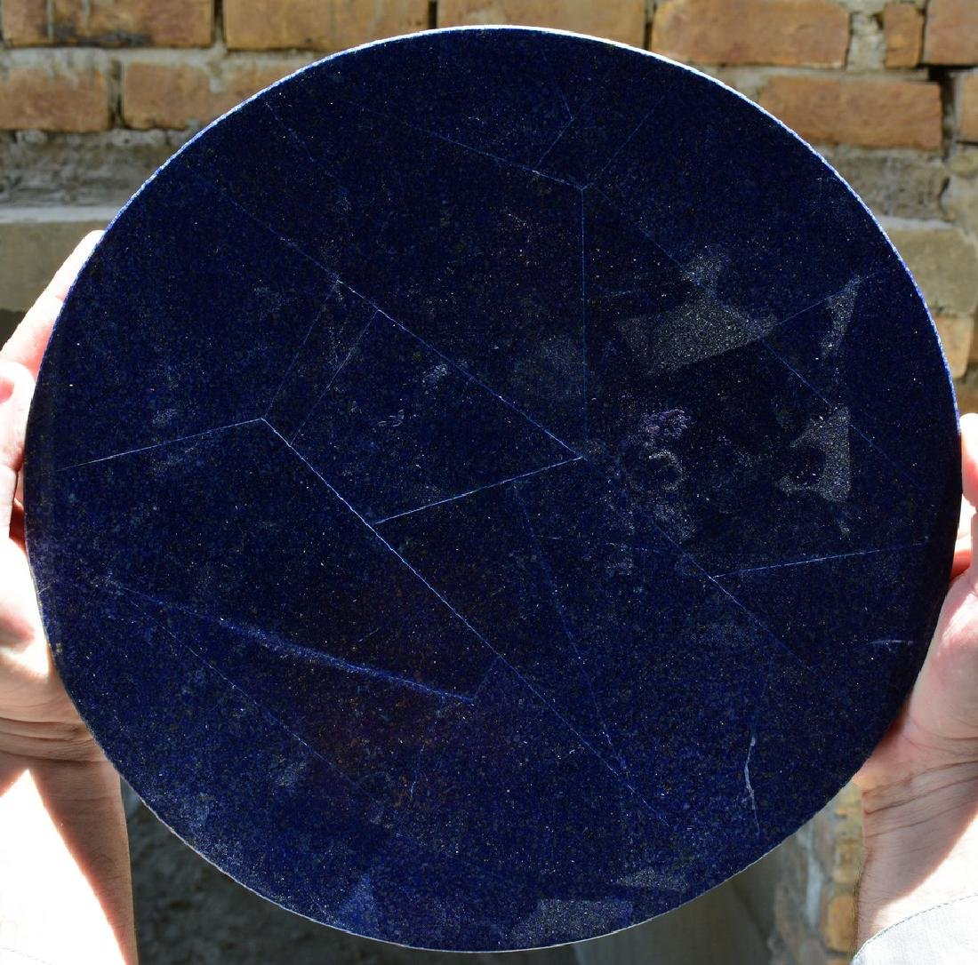 Natural Lapis Lazuli With Marble Combine Table - 3