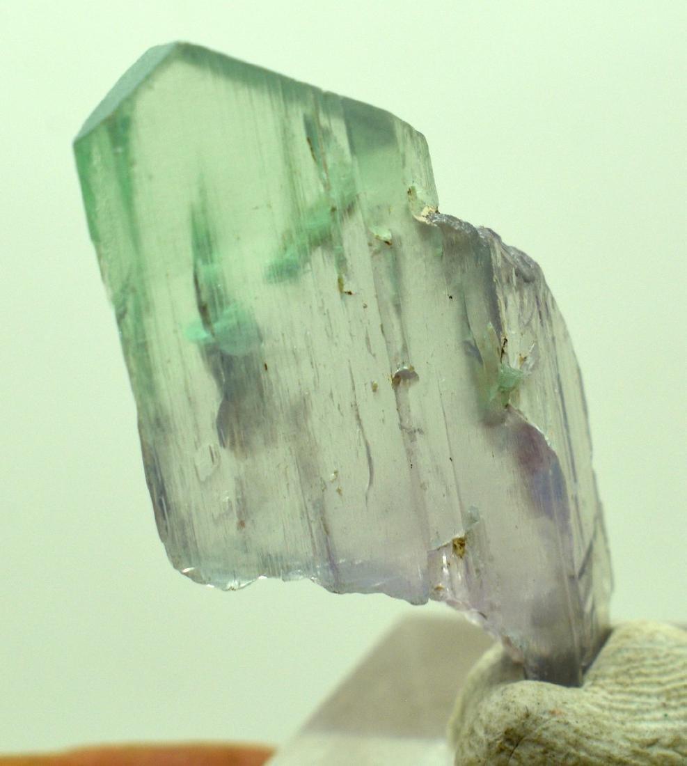 Natural Bi Color Kunzite Crystal - 10