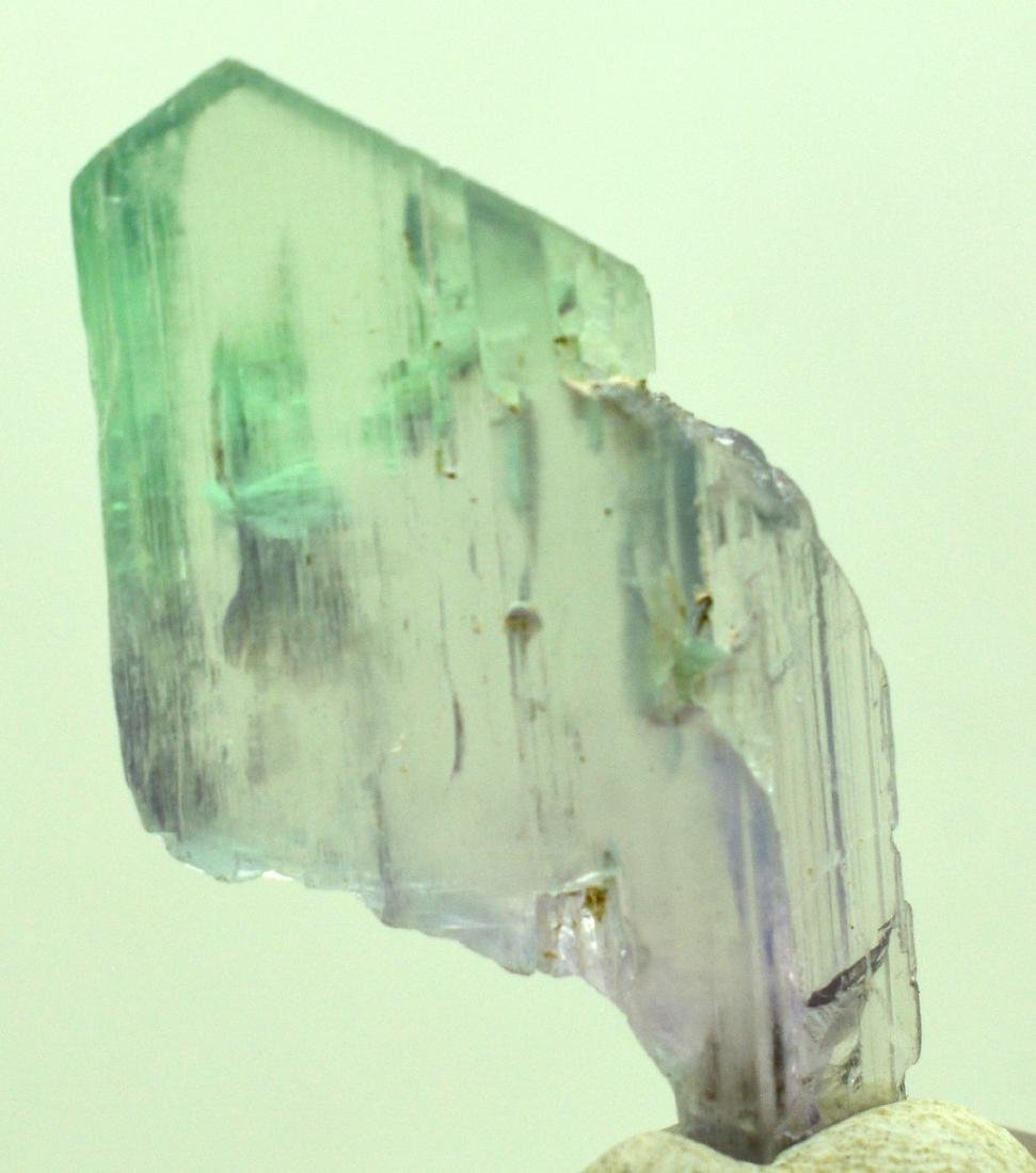 Natural Bi Color Kunzite Crystal