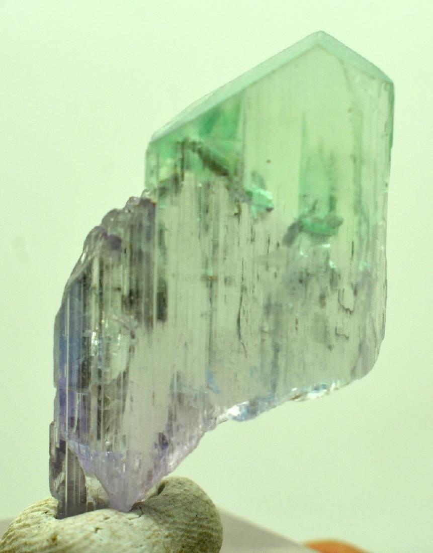 Natural Bi Color Kunzite Crystal - 4