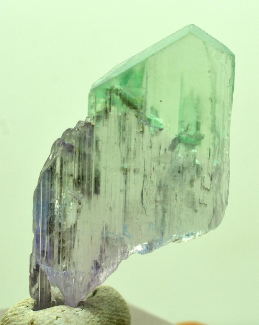 Natural Bi Color Kunzite Crystal - 5