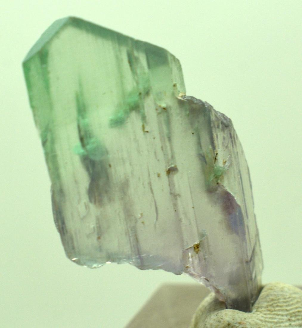 Natural Bi Color Kunzite Crystal - 7