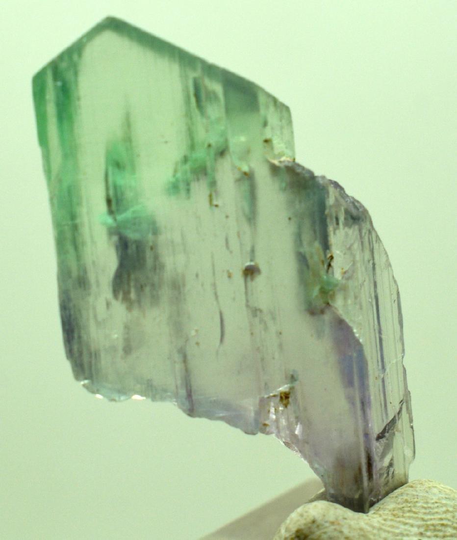 Natural Bi Color Kunzite Crystal - 9