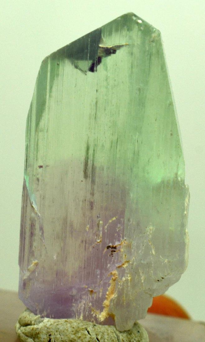 Natural Bi Color Kunzite Crystal - 10