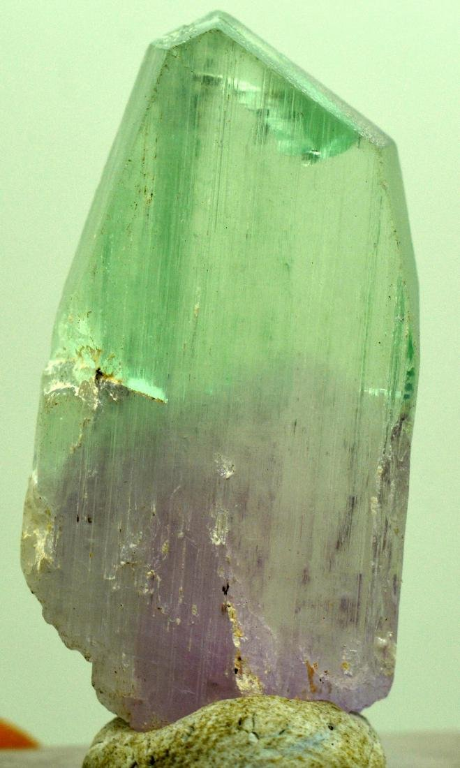 Natural Bi Color Kunzite Crystal - 3