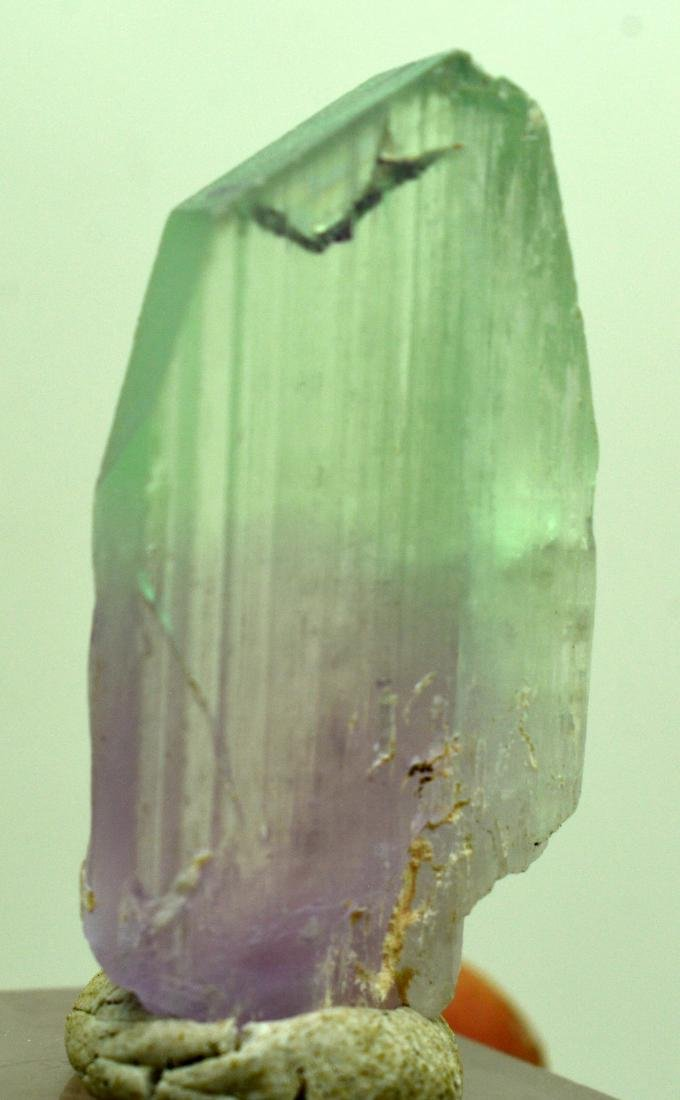 Natural Bi Color Kunzite Crystal - 5