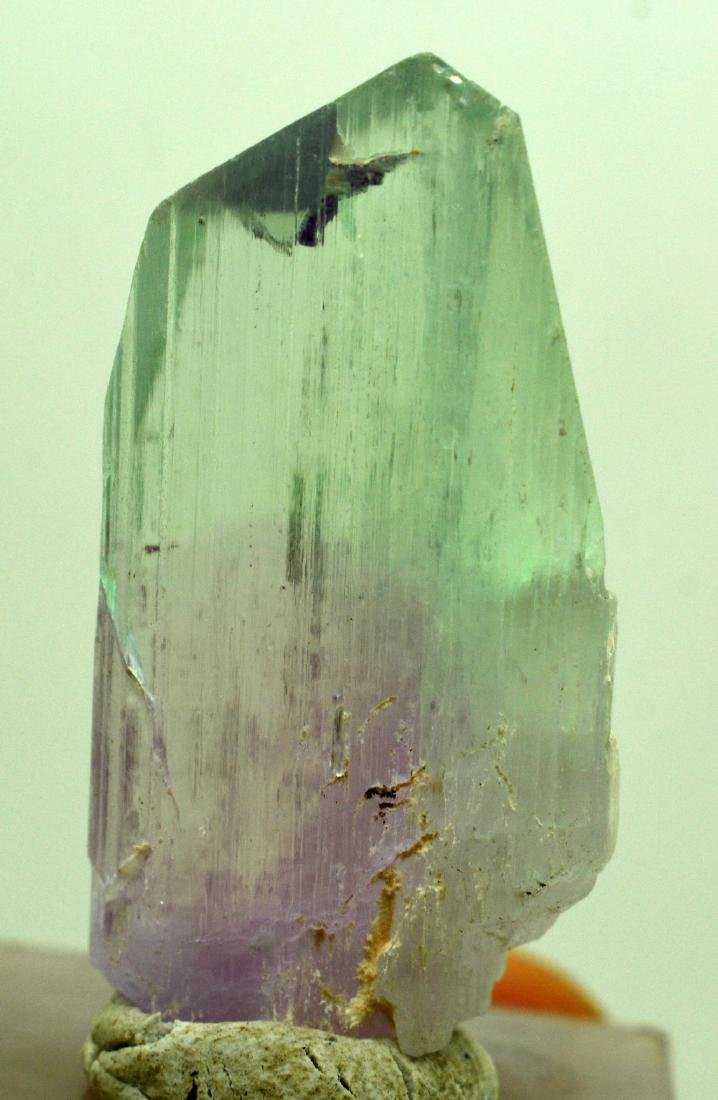 Natural Bi Color Kunzite Crystal - 9