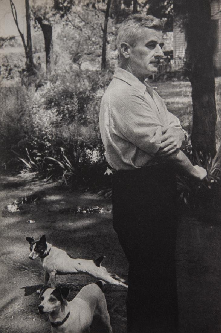 HENRI-CARTIER BRESSON - William Faulkner, Oxford