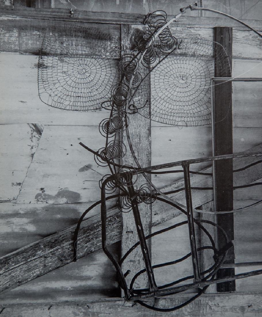 IMOGEN CUNNINGHAM - Crab Nets, 1963