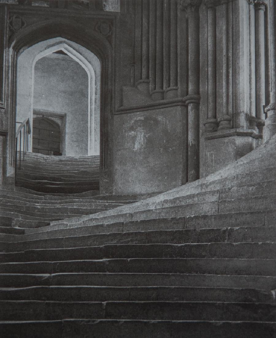 FREDERICK EVANS - The Sea of Steps Wells Cathedral 1903