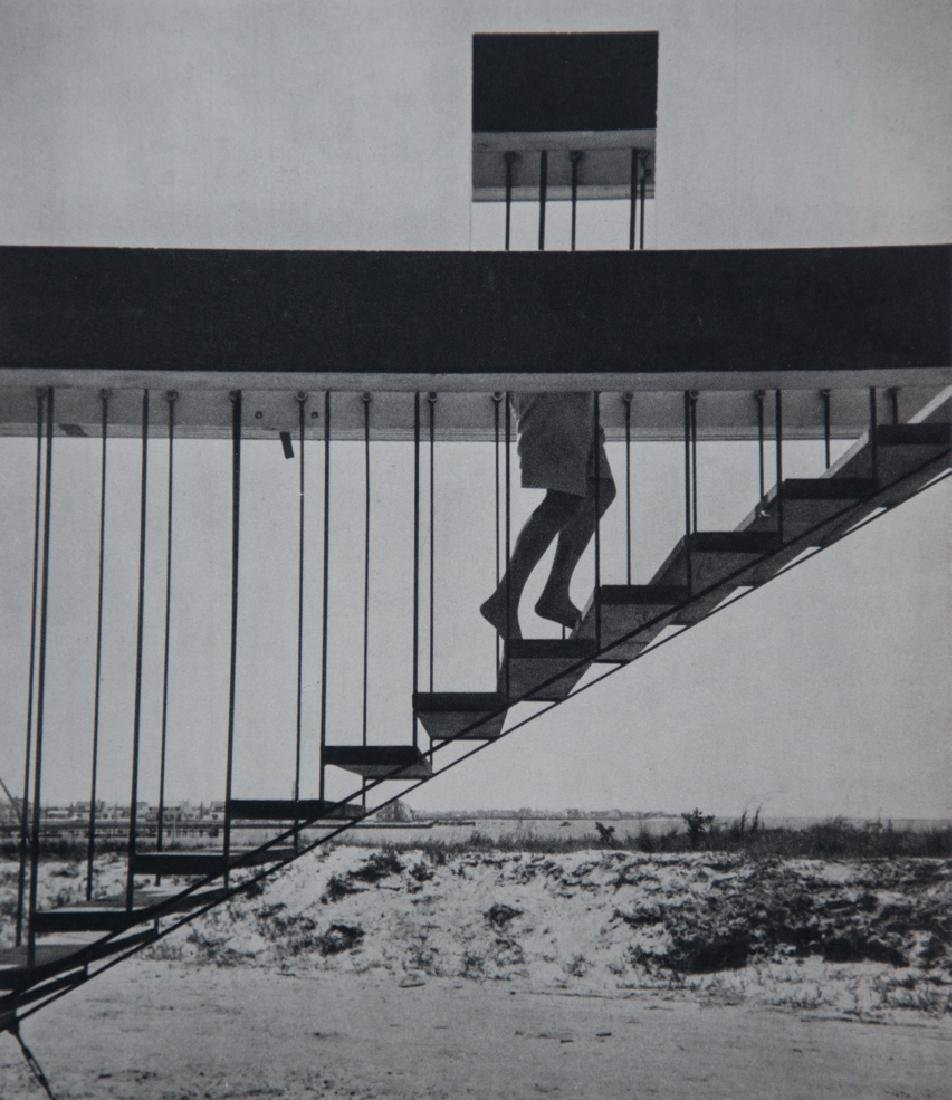 ANDRE KERTESZ - Disappearing Act, 1955