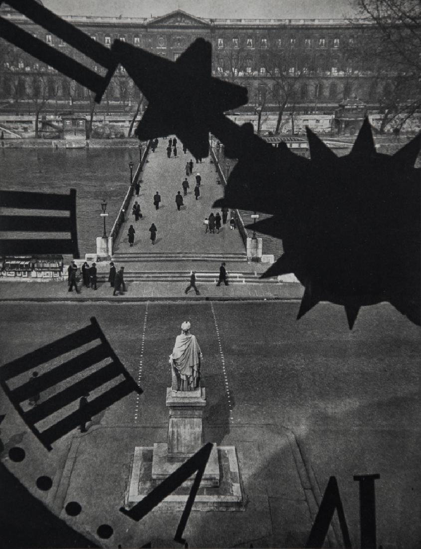 ANDRE KERTESZ - Pont des Arts, Paris,1932
