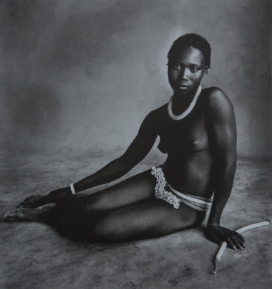 IRVING PENN - Nubile Young Beauty of Diamare, Cameroon