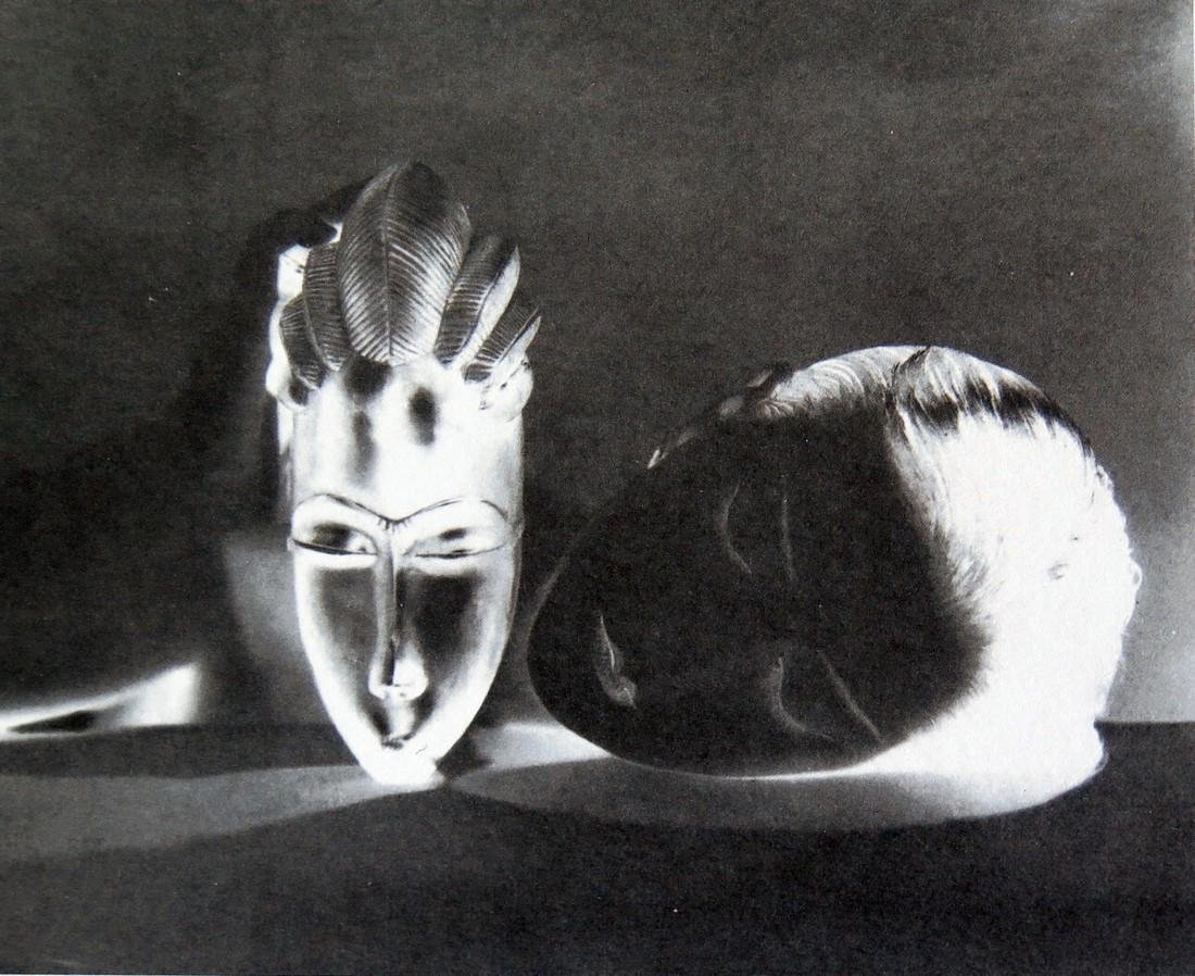 MAN RAY - Nore et blanche
