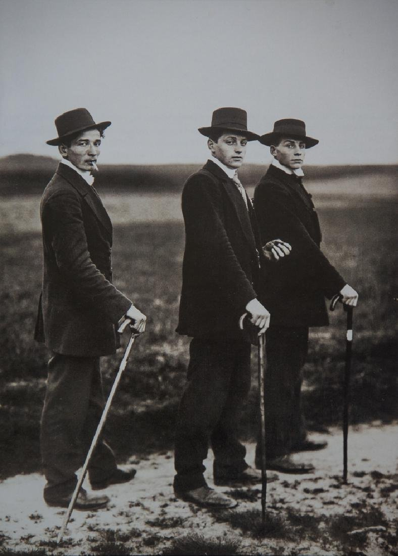 AUGUST SANDER - Young Farmers, 1914