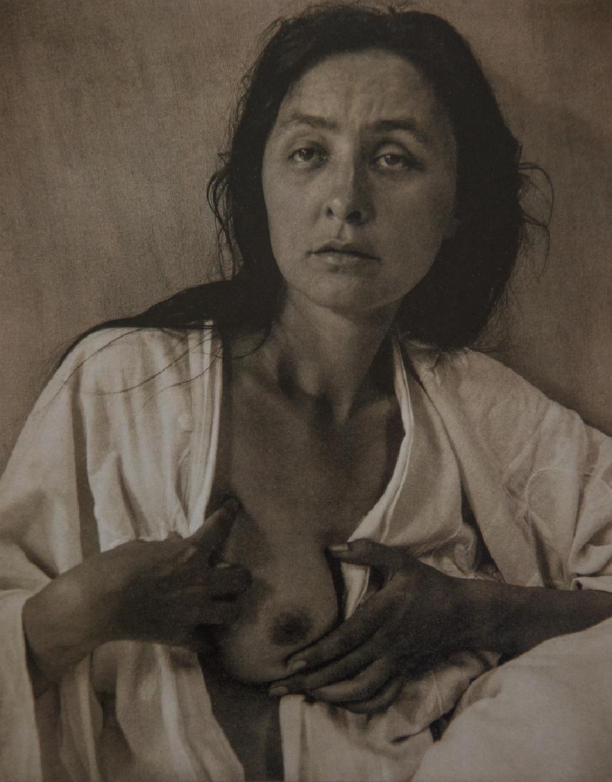 ALFRED STIEGLITZ - Georgia O'Keeffe: A Portrait, 1918
