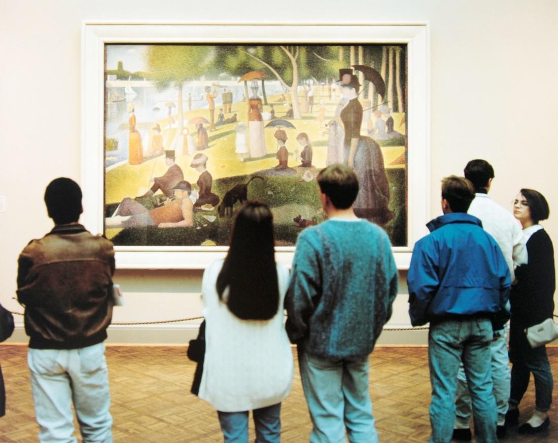 THOMAS STRUTH - Art Institute of Chicago I, 1990