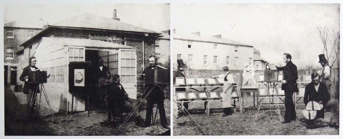 W.H. FOX TALBOT - The photographic workshop in Reading